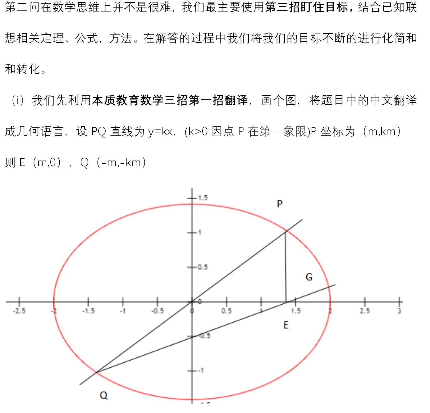 何学好数学—2019全国二卷压轴题解析